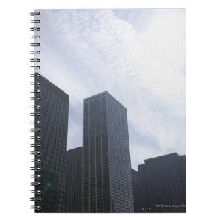 USA, Illinois, Chicago, skyline Notebooks