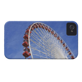 USA, Illinois, Chicago. View of Ferris wheel iPhone 4 Case