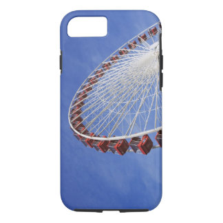 USA, Illinois, Chicago. View of Ferris wheel iPhone 8/7 Case