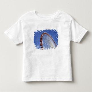 USA, Illinois, Chicago. View of Ferris wheel Toddler T-Shirt