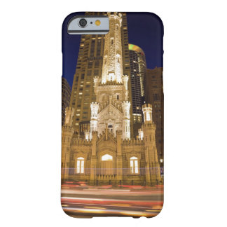 USA, Illinois, Chicago, Water Tower illuminated Barely There iPhone 6 Case