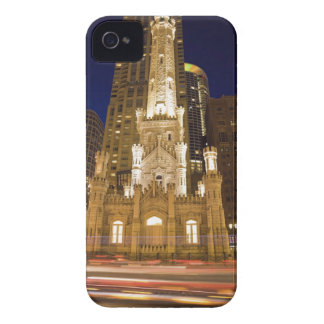 USA, Illinois, Chicago, Water Tower illuminated Case-Mate iPhone 4 Cases