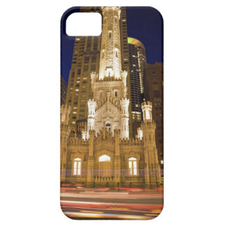 USA, Illinois, Chicago, Water Tower illuminated iPhone 5 Cases