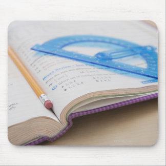 USA, Illinois, Metamora, Maths book Mouse Pad