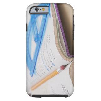 USA, Illinois, Metamora, Maths book Tough iPhone 6 Case