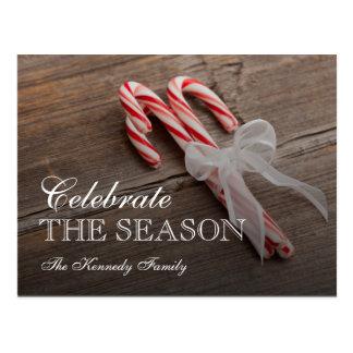 USA, Illinois, Metamora, Peppermint candy canes Postcard