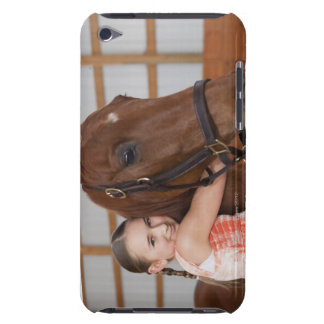 USA, Illinois, Metamora, Portrait of smiling Barely There iPod Cases