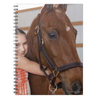 USA, Illinois, Metamora, Portrait of smiling Notebook