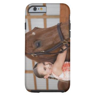 USA, Illinois, Metamora, Portrait of smiling Tough iPhone 6 Case