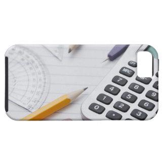 USA, Illinois, Metamora, Still life with school Tough iPhone 5 Case