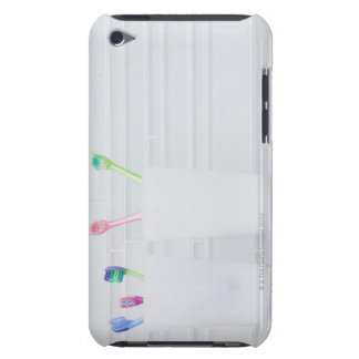 USA, Illinois, Metamora, Various toohbrushes in Case-Mate iPod Touch Case