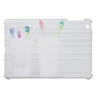 USA, Illinois, Metamora, Various toohbrushes in Cover For The iPad Mini