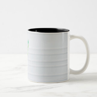 USA, Illinois, Metamora, Various toohbrushes in Two-Tone Coffee Mug