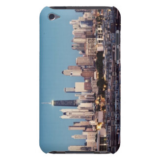 USA, Illinois, North Loop in Chicago panorama iPod Case-Mate Case