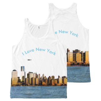 USA image for All-Over-Printed-Unisex-Vest All-Over Print Tank Top