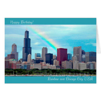 USA Image for Birthday greeting card
