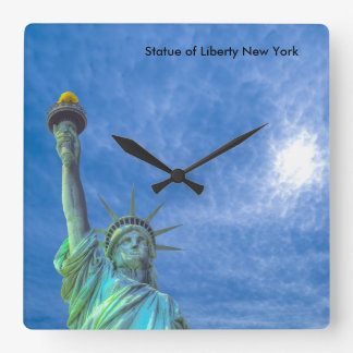 USA Image for Square-Wall-Clock Square Wall Clock