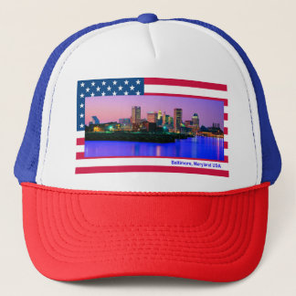 USA image for Trucker-Hat Trucker Hat