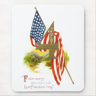 USA INDEPENDENCE DAY MOUSE PAD