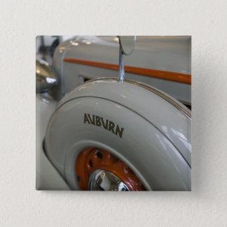 USA, Indiana, Auburn: Auburn, Cord, Duesenberg 13 15 Cm Square Badge