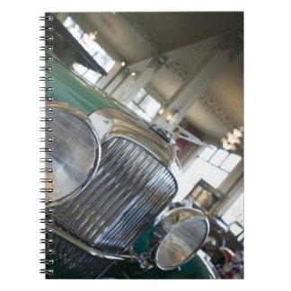 USA Indiana Auburn Auburn Cord Duesenberg Spiral Note Books