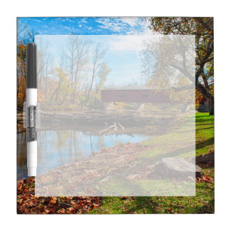 USA, Indiana, Cataract Falls State Recreation Dry Erase Board