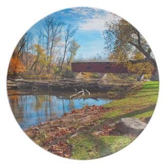 USA, Indiana, Cataract Falls State Recreation Plate