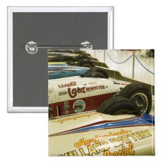 USA, Indiana, Indianapolis: Indianapolis Motor 3 15 Cm Square Badge