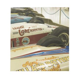 USA, Indiana, Indianapolis: Indianapolis Motor 3 Notepad