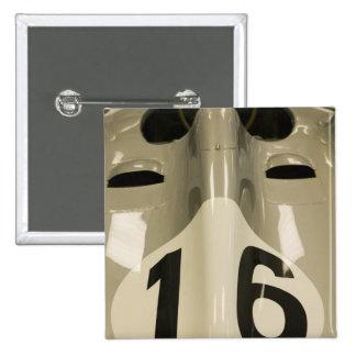 USA, Indiana, Indianapolis: Indianapolis Motor 4 15 Cm Square Badge