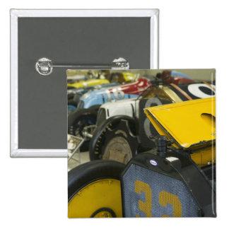 USA, Indiana, Indianapolis: Indianapolis Motor 5 15 Cm Square Badge