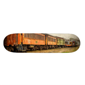 USA, Indiana. The North Mudson Railroad Museum 20.6 Cm Skateboard Deck