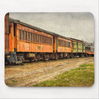 USA, Indiana. The North Mudson Railroad Museum Mouse Mat