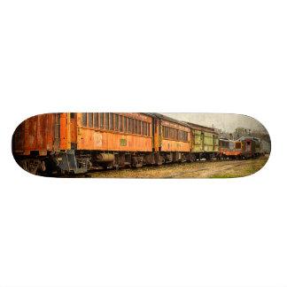 USA, Indiana. The North Mudson Railroad Museum 20.6 Cm Skateboard Deck
