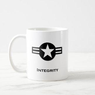 USA Integrity black Classic White Coffee Mug