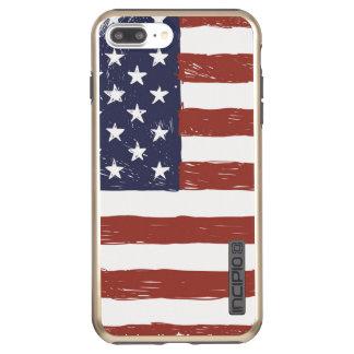 USA iPhone 7 Plus DualPro Shine, Gold Incipio DualPro Shine iPhone 8 Plus/7 Plus Case