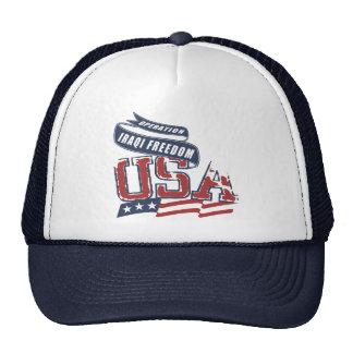USA Iraqi Freedom Cap