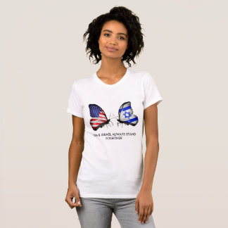 USA ISRAEL ALWAYS STAND TOGETHER T-Shirt