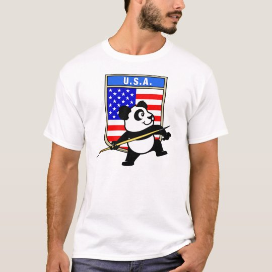 USA Javelin Panda T-Shirt