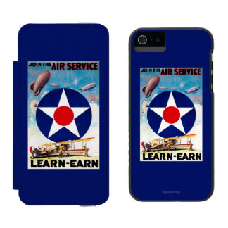 USA - Join the Air Service Learn-Earn Incipio Watson™ iPhone 5 Wallet Case