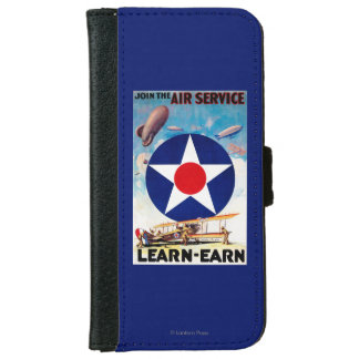 USA - Join the Air Service Learn-Earn iPhone 6 Wallet Case