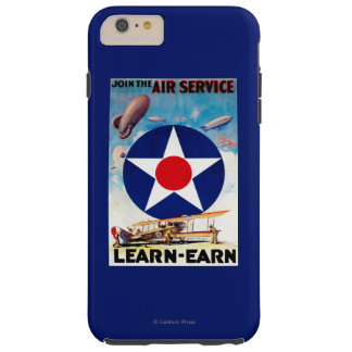 USA - Join the Air Service Learn-Earn Tough iPhone 6 Plus Case