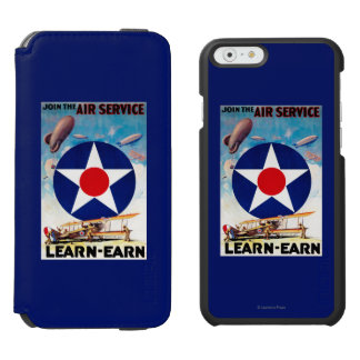 USA - Join the Air Service Learn-Earn Incipio Watson™ iPhone 6 Wallet Case