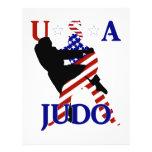 USA Judo 21.5 Cm X 28 Cm Flyer