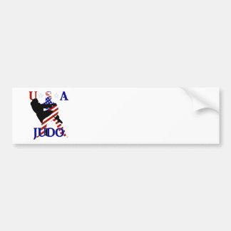 USA Judo Bumper Sticker