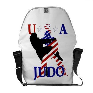 USA Judo Messenger Bags