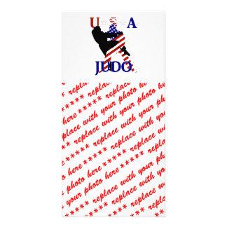 USA Judo Photo Card Template