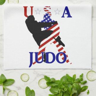 USA Judo Tea Towel