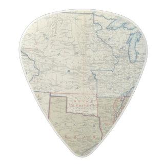USA June 1861 Acetal Guitar Pick