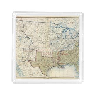 USA June 1861 Acrylic Tray